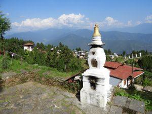 Talo village Punakha vallei Bhutan