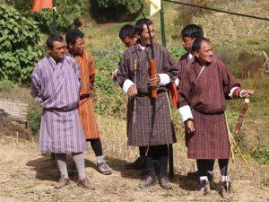 Boogschieten Bhutan